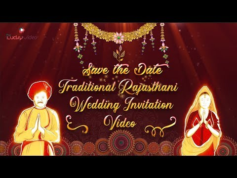 traditional-rajasthani-wedding-invitation-video-|-save-the-date-|-tlv-007
