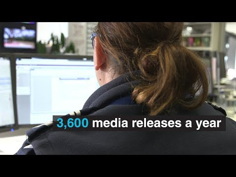 Behind the scenes at the Victoria Police Media Unit