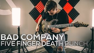 Five Finger Death Punch - Bad Company - Cole Rolland (Guitar Cover)