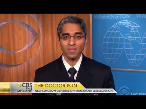 U.S. Surgeon General Dr. Vivek Murthy: Marijuana Can Be Helpful, Use Data To Drive Policy Making