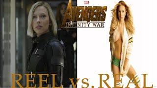 Avengers Infinity War Cast: Movie vs Real Life