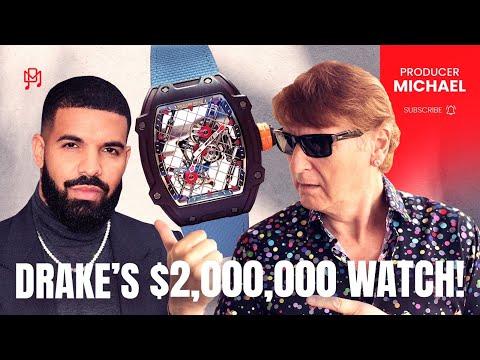DRAKE'S $2,000,000 WATCH!