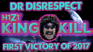 Dr Disrespect First Victory of 2017 | H1Z1 KOTK 12K Full Match | King of the Kill Gameplay