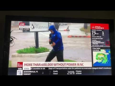 Fake News: Trackíng Hurrícane Florence