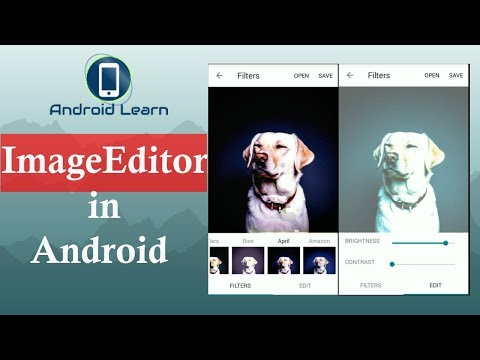 Image editor android app source code