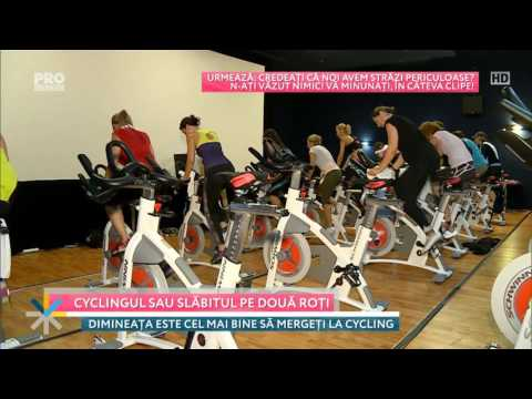 WorldClass: cycling sau slăbitul pe două roți ;)