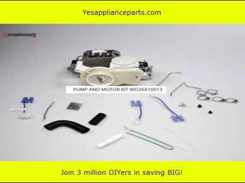 Ge Profile Dishwasher Parts Schematic