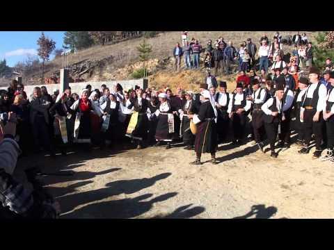 "KOPACKA Woman Dance Group - ""St. Archangel Michael's Day"" village Dramce - Macedonia"