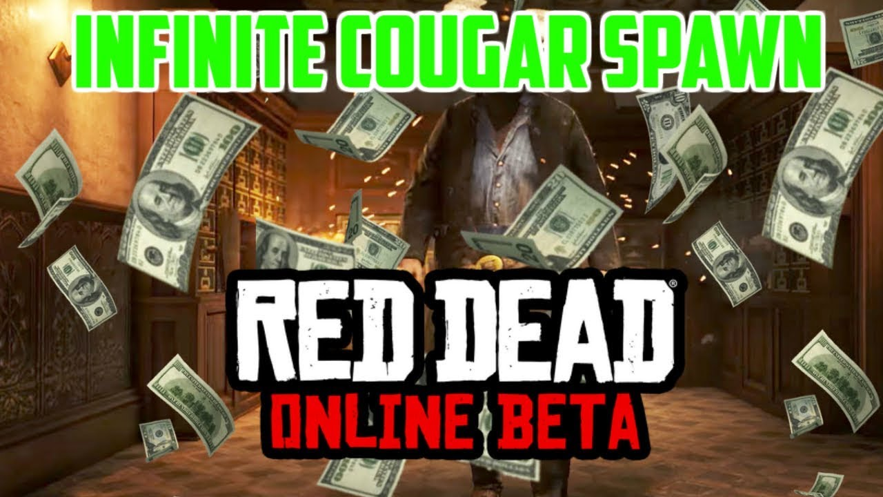 HOW TO GET INFINITE COUGARS IN RED DEAD REDEMPTION ONLINE
