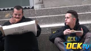 When this boy asked a homeless for a piece of pizza that happened...