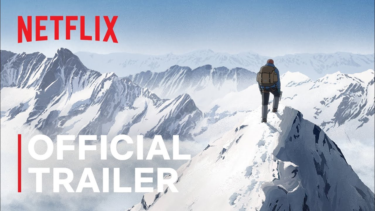 The Summit of the Gods | Official Trailer | Netflix