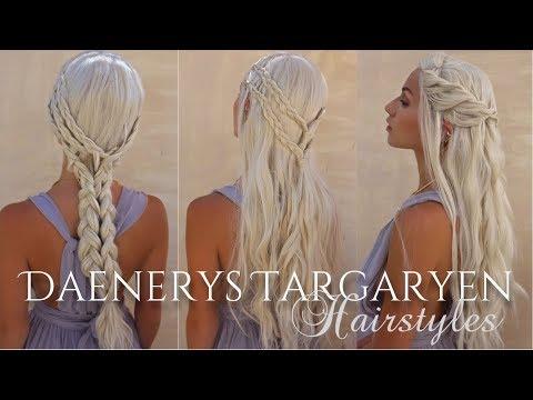 Daenerys Targaryen Hairstyles | GAME OF THRONES + Shein.com | Stella