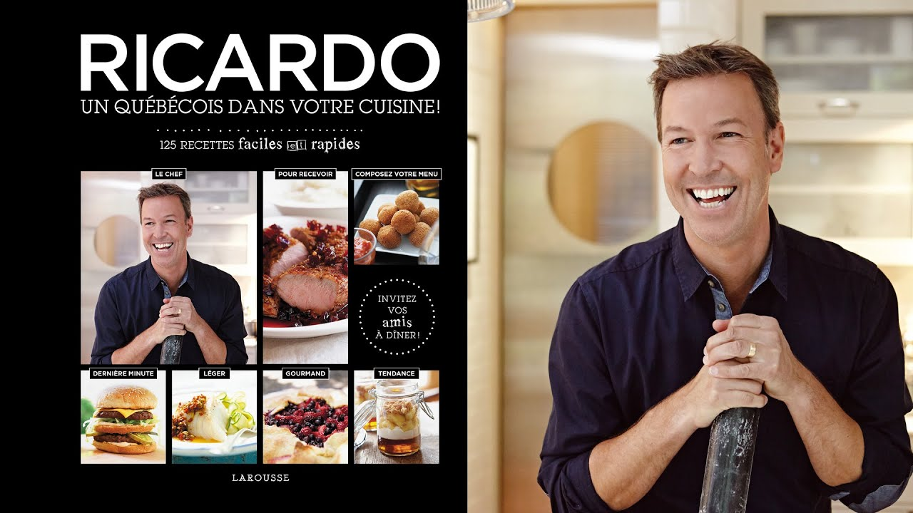 Ricardo cuisine pr sente son nouveau livre ricardo un for Article de cuisine ricardo