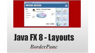 JavaFX 8 Tutorial - BorderPane (Layouts) #11 Español