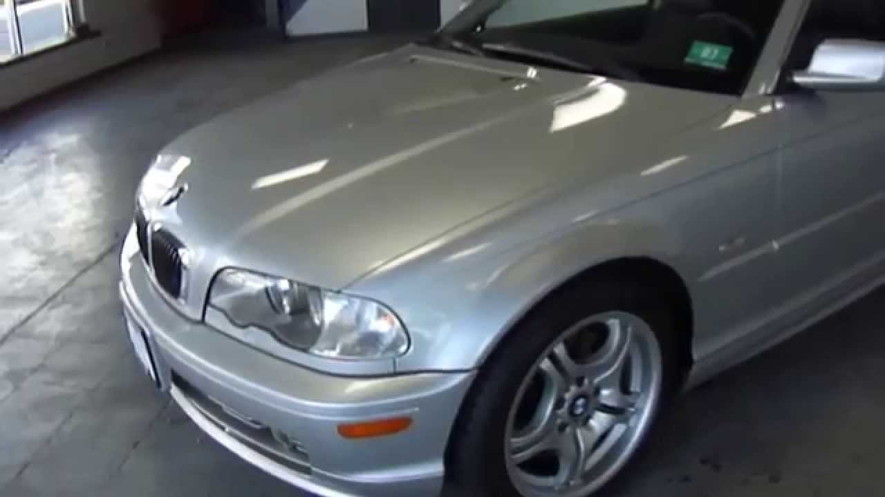 2ju26651 2002 bmw 330ci silver sport pkg mt northeast motor cars nj