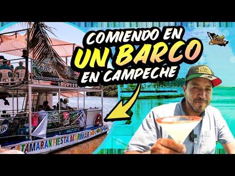 Del MAR a tu PALADAR, Comiendo en un Barco en una Isla de México.
