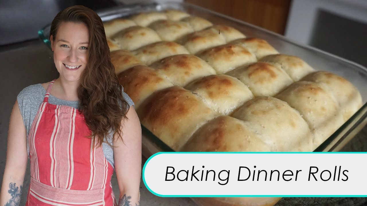 OUR FIRST VIDEO! | Dinner Rolls Recipe