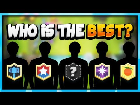 Top 5 BEST Clash Royale Players in the World! (& Their Favorite Decks)