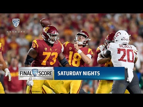 Highlights: JT Daniels, USC football outlast Gardner Minshew, Washington State in Friday night...
