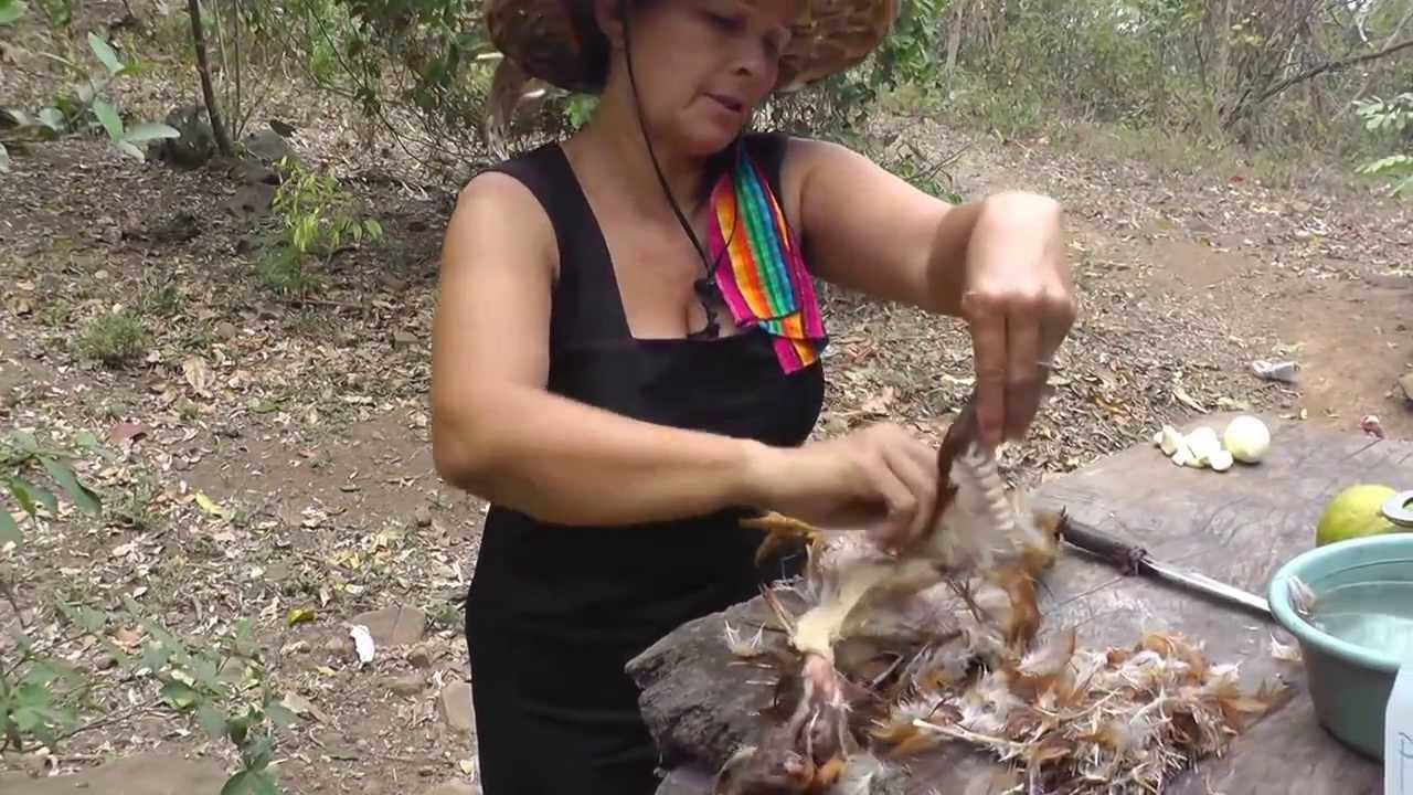 How To Pluck A Chicken  Doovi-7206