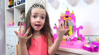 Ulya Wants to be Like a Princess and Begs Papa for New Dresses, Jewelry and Makeup