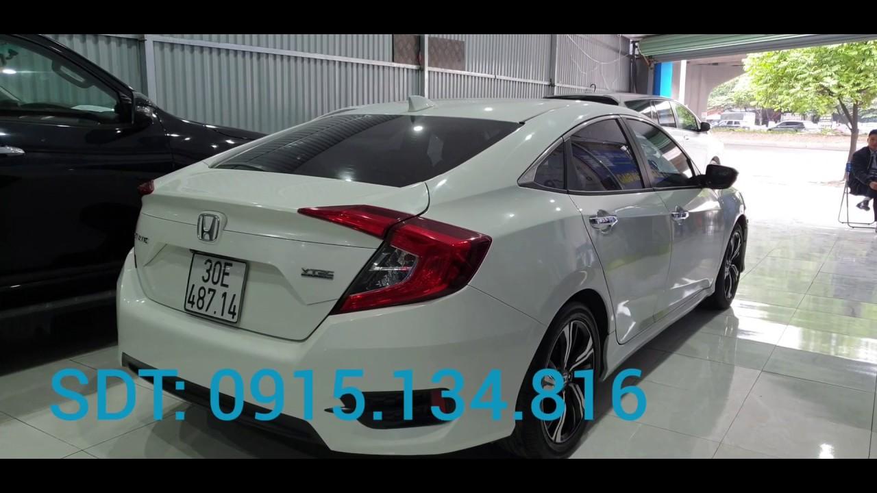 Bán gấp Honda civic cũ 2016 bản nhập khẩu Thái Lan, hỗ trợ trả góp, hỗ trợ sang tên