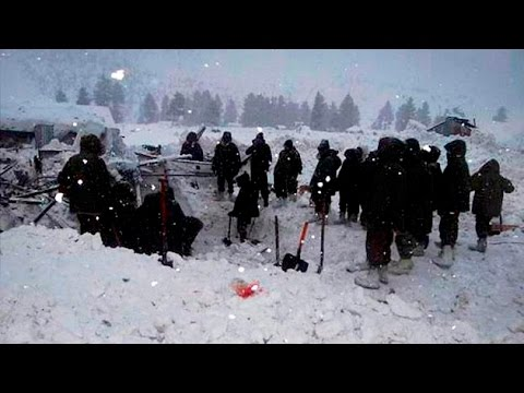 Avalanche hits army post in Kupwara District in J&K, five soldiers trapped