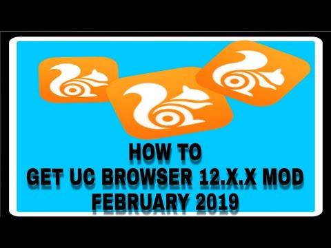 How To Get UC BROWSER 12.X.X MOD Apk For Free With DIRECT DOWNLOAD LINK||By Tech Android 2019