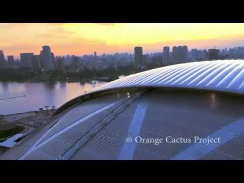 Singapore Sports Hub - Worlds Largest Free Spanning Dome