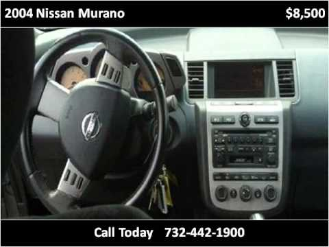 2004 Nissan Murano Used Cars Perth Amboy Nj Youtube