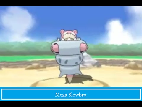 Mega Slowbro Sceen