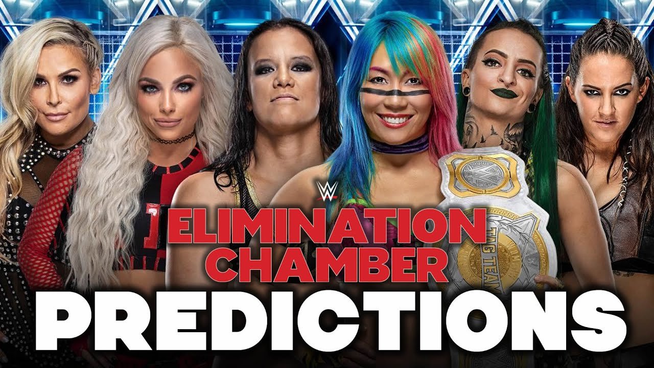 WWE Elimination Chamber 2020: Live updates, results and match ...