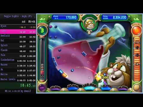 Peggle Nights Any% Speedrun in 1:55:47