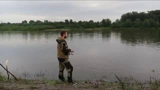 Рыбалка в Уфе на реке белой , ловлю лайтом на ponton 21