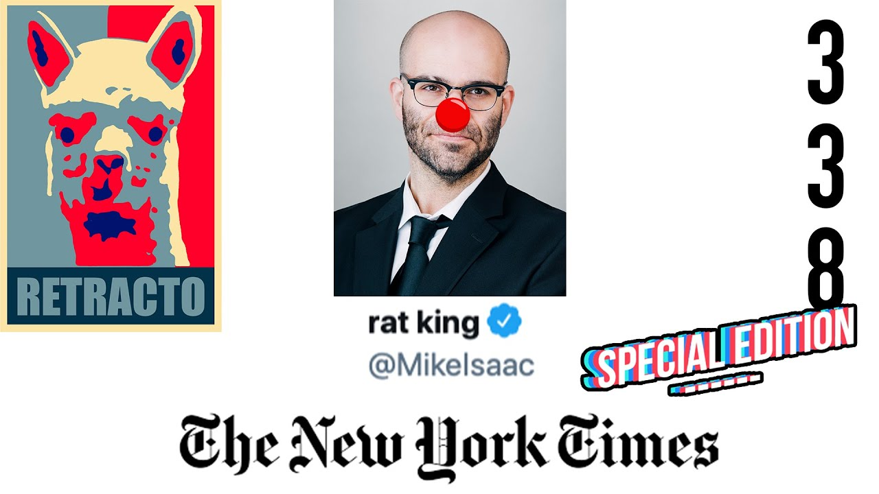 """SPECIAL EDITION RETRACTO 338: Babylon Bee CEO Seth Dillon Forces New York Times to """"update"""" article"""