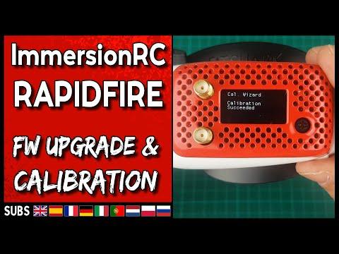 ImmersionRC RapidFire - Firmware Upgrade & Calibration