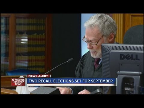 Judge rules recall petitions for Colorado Senators Morse and Giron are valid