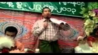 a rohingya history seminar by htay lwin oo in saudi arabia1