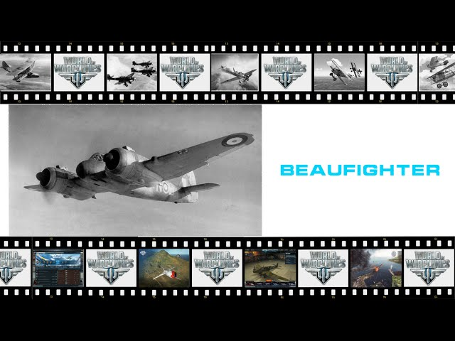 Как не стоит играть на Beaufighter