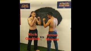 Summit County Jiu Jitsu & Muay Thai   Nick Ondish Vs Jesus Adrian Munoz