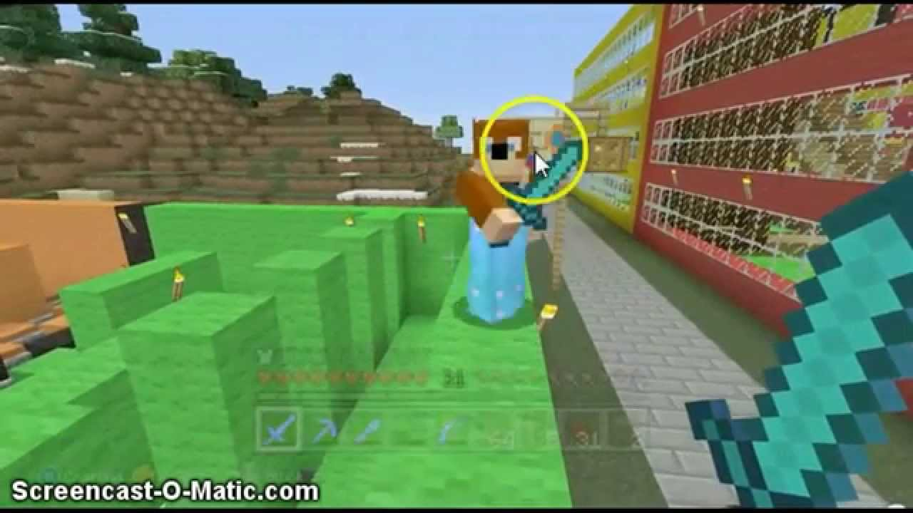 hit the target sighting in stampys lovley world - YouTube