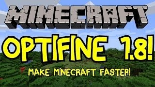 Minecraft: How to Install Optifine!(1.8.1)|MAC/Windows|2014