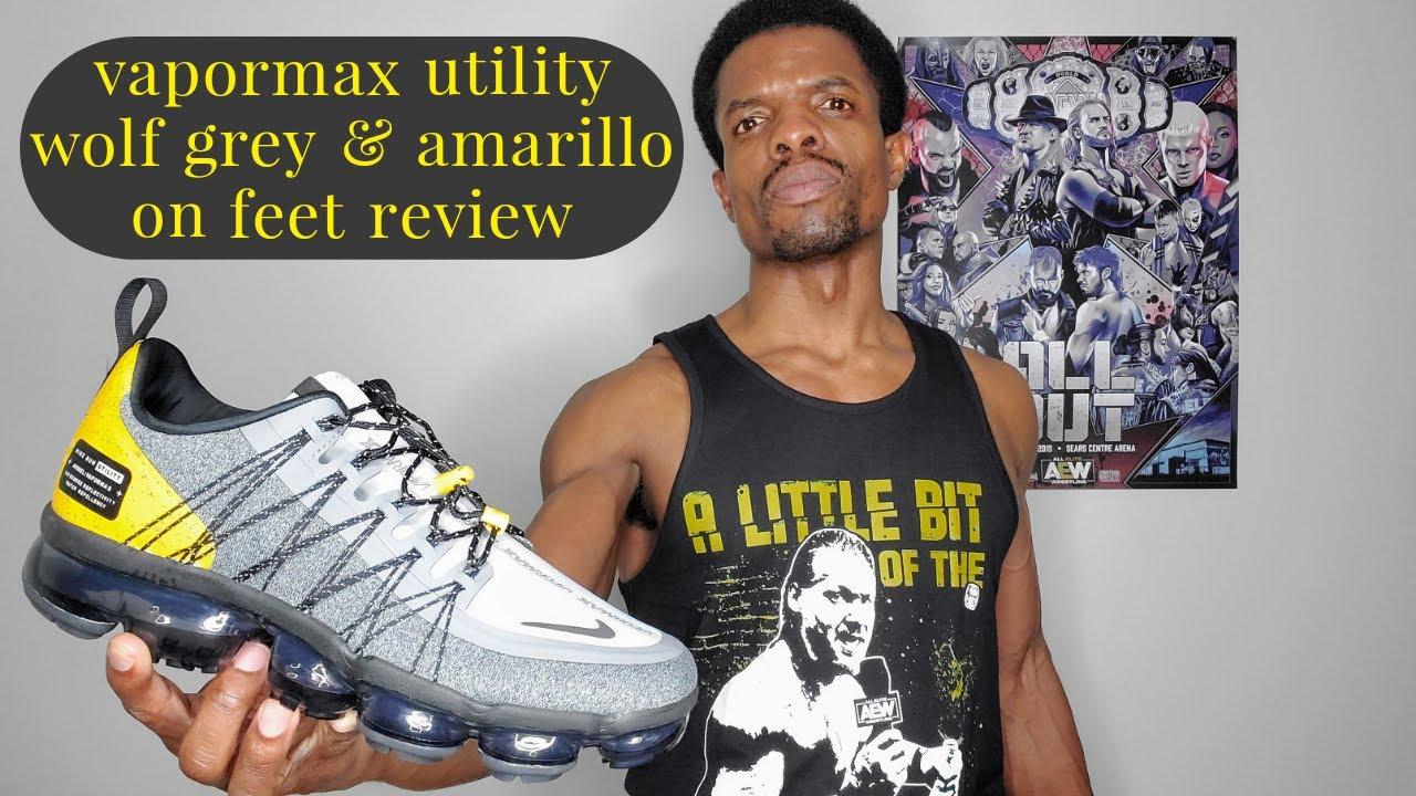 Nike Air Vapormax Run Utility 'Wolf