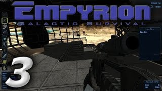 "Empyrion Galactic Survival Gameplay / Let's Play (S-1) -Ep. 3- ""Crashed Ship Dangers & Loot!"""