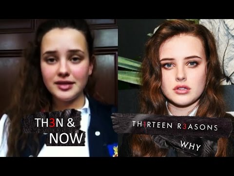 13 Reasons Why Then And Now 2018 Antes Y Despues Youtube