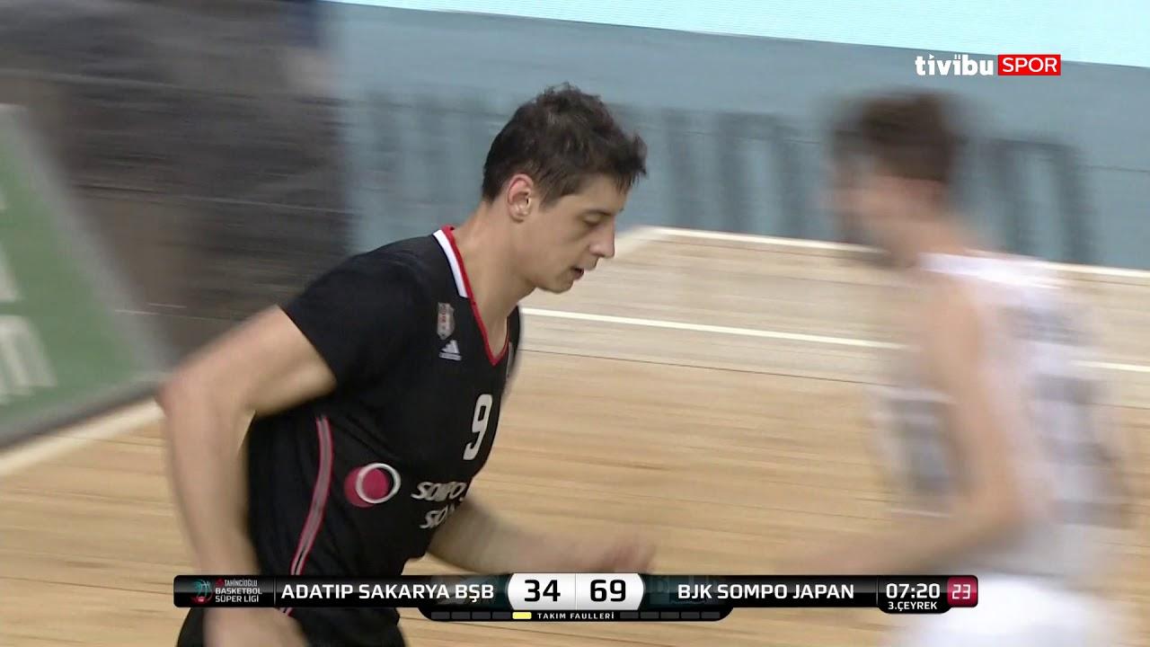 Maç Özeti:Adatıp Sakarya BŞB Basketbol - Beşiktaş Sompo Japan