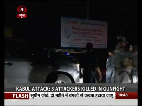 Kabul attack: Kabul hotel attack ends after three Taliban fighters killed