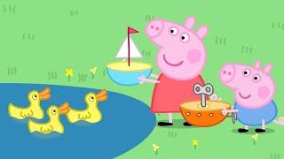 Peppa Pig en Español Capitulos Completos - Barquito de juguete - Pepa la cerdita