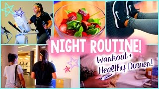 Fall Night Routine! Workout + Healthy Dinner!2014