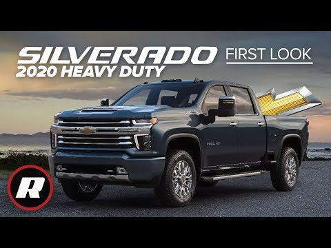 2020 Chevy Silverado HD: New looks, hulked-out hauling and tech | First Look